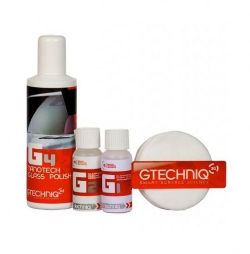 Gtechniq G1 and G4 Rain Repellent Sealant and Glass Polish Kit RainX